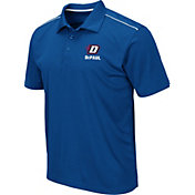 Colosseum Men's DePaul Blue Demons Royal Blue Eagle Polo