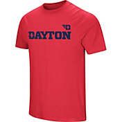 Colosseum Men's Dayton Flyers Red Brushed Performance T-Shirt