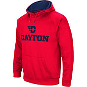 Colosseum Men's Dayton Flyers Red Fleece Pullover Hoodie