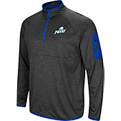 Colosseum Men's Florida Gulf Coast Eagles Grey Amnesia Quarter-Zip Shirt