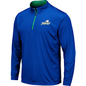 Colosseum Men's Florida Gulf Coast Eagles Colbalt Blue Embossed Quarter-Zip Performance Shirt