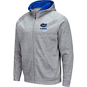 Colosseum Men's Florida Gators Grey Full-Zip Hoodie