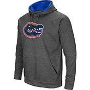 Colosseum Men's Florida Gators Grey Fleece Pullover Hoodie