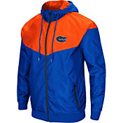 Colosseum Men's Florida Gators Blue/Orange Galivanting Full Zip Jacket