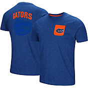 Colosseum Men's Florida Gators Blue Voodoo Pocket T-Shirt