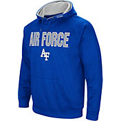 Colosseum Men's Air Force Falcons Blue Fleece Pullover Hoodie