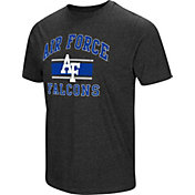Colosseum Men's Air Force Falcons Grey Tri-Blend T-Shirt