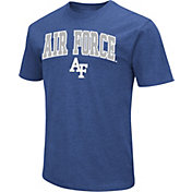 Colosseum Men's Air Force Falcons Blue Dual Blend T-Shirt