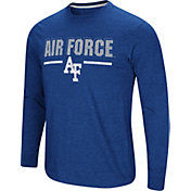 Colosseum Men's Air Force Falcons Blue Touchdown Long Sleeve T-Shirt