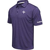 Colosseum Men's Furman Paladins Purple Axis Polo