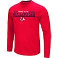 Colosseum Men's Fresno State Bulldogs Cardinal Long Sleeve Performance T-Shirt
