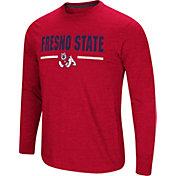 Colosseum Men's Fresno State Bulldogs Cardinal Touchdown Long Sleeve T-Shirt