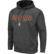 Colosseum Men's Florida State Seminoles Grey Pullover Hoodie
