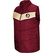 Colosseum Men's Florida State Seminoles Garnet Red Beaulieu Full-Zip Vest