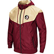 Colosseum Men's Florida State Seminoles Garnet/Gold Galivanting Full Zip Jacket