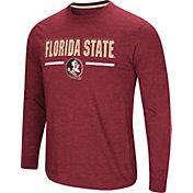 Colosseum Men's Florida State Seminoles Garnet Touchdown Long Sleeve T-Shirt
