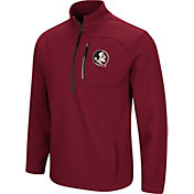 Colosseum Men's Florida State Seminoles Garnet Townie Half-Zip Jacket