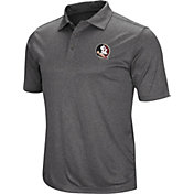 Colosseum Men's Florida State Seminoles Grey Cut Shot Polo