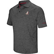 Colosseum Men's Notre Dame Fighting Irish Grey Downswing Polo