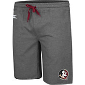 Colosseum Men's Florida State Seminoles Grey Farmer Fran French Terry Shorts