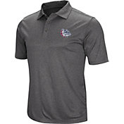 Colosseum Men's Gonzaga Bulldogs Grey Polo