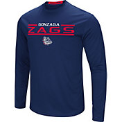 Colosseum Men's Gonzaga Bulldogs Blue Long Sleeve Performance T-Shirt