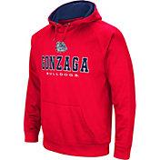 Colosseum Men's Gonzaga Bulldogs Red Fleece Pullover Hoodie