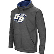 Colosseum Men's Georgia Southern Eagles Grey Fleece Pullover Hoodie