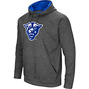 Colosseum Men's Georgia State  Panthers Grey Fleece Pullover Hoodie
