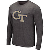 Colosseum Men's Illinois Fighting Illini Grey Long Sleeve T-Shirt