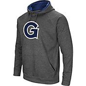 Colosseum Men's Georgetown Hoyas Grey Fleece Pullover Hoodie