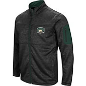 Colosseum Men's Ohio Bobcats Glacier Full-Zip Black Jacket