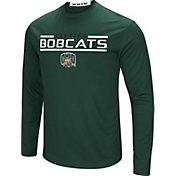 Colosseum Men's Ohio Bobcats Green Long Sleeve Performance T-Shirt