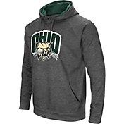 Colosseum Men's Ohio Bobcats Grey Pullover Hoodie