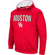 Colosseum Men's Houston Cougars Red Fleece Pullover Hoodie