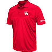 Colosseum Men's Houston Cougars Red Stance Polo