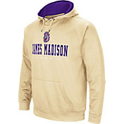 Colosseum Men's James Madison Dukes Gold Fleece Pullover Hoodie
