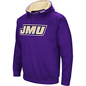 Colosseum Men's James Madison Dukes Purple Fleece Pullover Hoodie