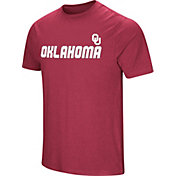 Colosseum Men's Oklahoma Sooners Crimson Brushed Performance T-Shirt