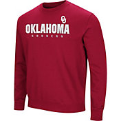 Colosseum Men's Oklahoma Sooners Crimson Playbook Fleece