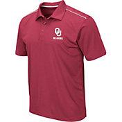 Colosseum Men's Oklahoma Sooners Crimson Eagle Polo