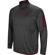 Colosseum Men's Eastern Kentucky Colonels Grey Amnesia Quarter-Zip Shirt