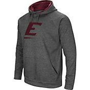 Colosseum Men's Eastern Kentucky Colonels Grey Fleece Pullover Hoodie