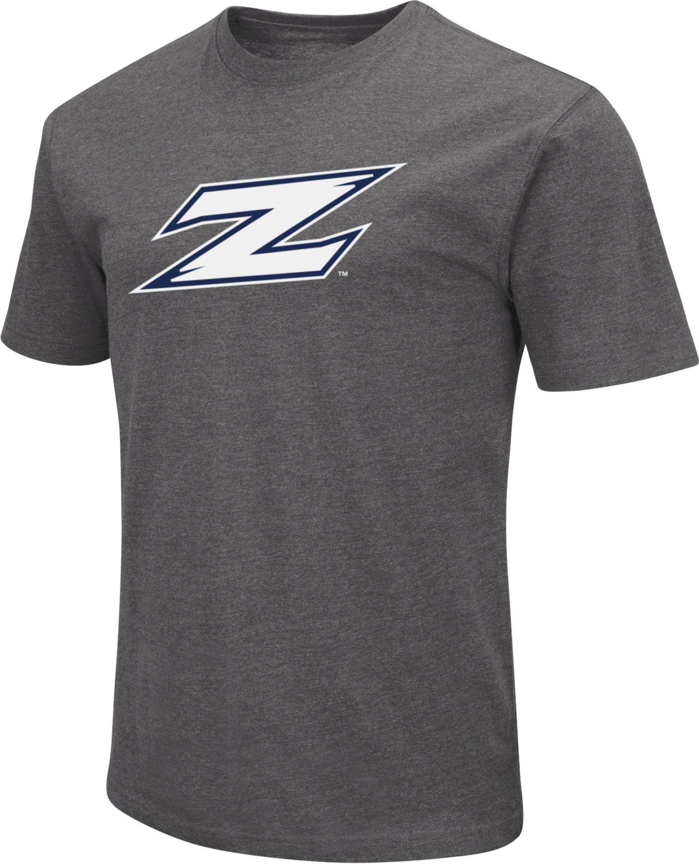 Colosseum Men's Akron Zips Grey Dual Blend T-Shirt