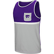 Colosseum Men's Kansas State Wildcats Purple/Silver Lollygaggers Tank Top