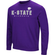 Colosseum Men's Kansas State Wildcats Purple Playbook Fleece