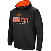 Colosseum Men's Oklahoma State Cowboys Fleece Pullover Black Hoodie