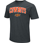 Colosseum Men's Oklahoma State Cowboys Dual Blend Black T-Shirt