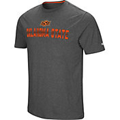 Colosseum Men's Oklahoma State Cowboys Grey Medula Oblongata T-Shirt