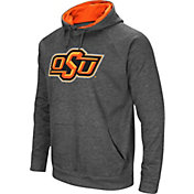 Colosseum Men's Oklahoma State Cowboys Grey Fleece Pullover Hoodie